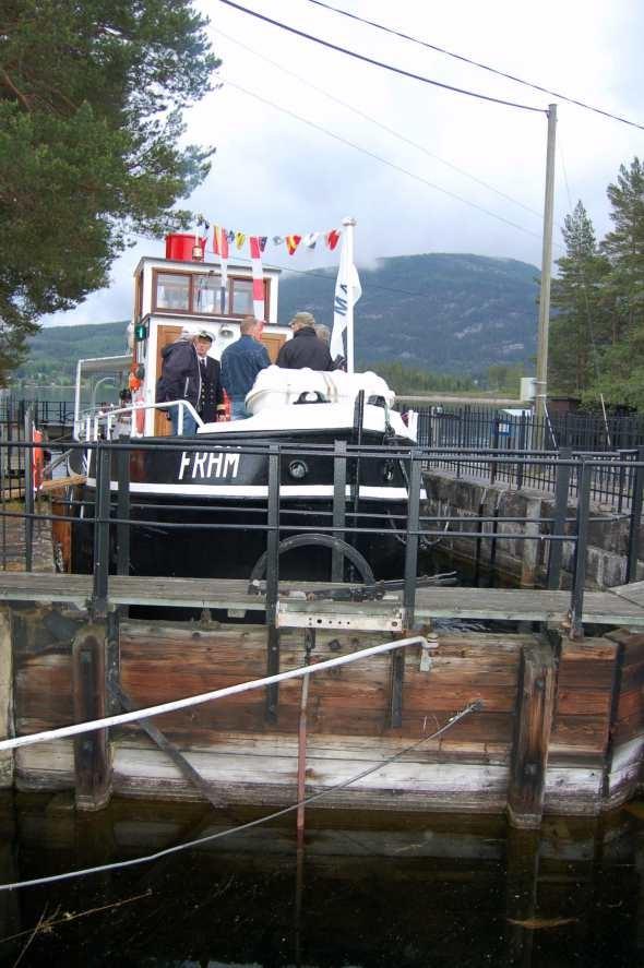Veteranbåten Fram