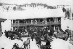 Gravferd frå Sandåker Morgedal 1936 - #KvH 09-084 b
