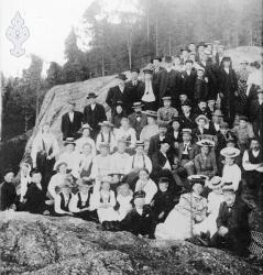 Tur på Striplefjell 1906 - #KvH 03-044 b