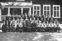 Folkehøgskulen Utsund elevar 19xx 05 - #KvH 126 b