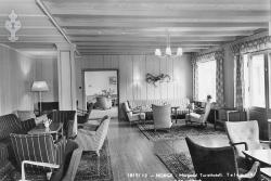 Morgedal Turisthotell Stempla 1953 - #KvH 04-091 b