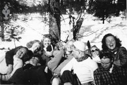 Folkehøgskulen Utsund Elevbilete 03 1946 47 - #KvH 132 b